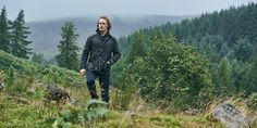 Sam Heughan/ Borbour Wax Jacket takes