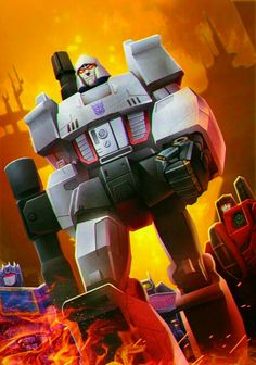 Post with 2380 votes and 128944 views. Tagged with art, transformers, batman, dragonball z, one punch man; Animation Fan Art Part 2 Transformers Megatron, Transformers Characters, Transformers Generation 1, Big Robots, Retro Cartoons, Kids Zone, Cartoon Movies, Box Art, Comic Art