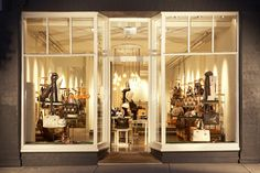 Great display windows for boutique