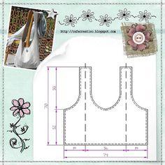 tutorial-sewing bag1 by AnnaDrai*Craft, via Flickr