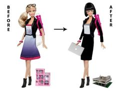 Extreme Makeover: Architect Barbie Edition
