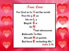 Awesome Valentine Scripture!  powerpoint.sonyanancysims.com   ©2011