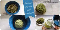 Cómo hacer pasta de papel extrafuerte | Manualidades