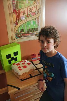 Coastal Sling Mommy: The Minecraft Birthday!