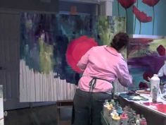 Dry Resist with Gelatos: Donna Downey Series - YouTube