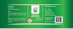 Rare German Chamomile Essential Oil (Therapeutic Grade) - 10ml