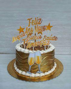 New Year's Cake, Revlon, Birthday Cake, Desserts, Instagram, Cake Party, Party Candy, Luxury Cake, Cake Decorating Tutorials