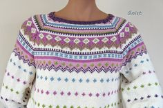 Ravelry: gittebettina's Garnmannen 175 - Sommerversjon Fair Isle Knitting, Free Knitting, Knitting Projects, Bunt, Ravelry, Projects To Try, Cross Stitch, Hat Patterns, Pullover