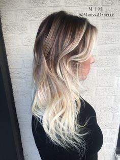 Rooty Blonde   hair by @marissadanelle