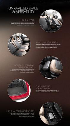 Microsite showcasing the new C4 Picasso for Citroën UK by Brandwidth Studio, via Behance