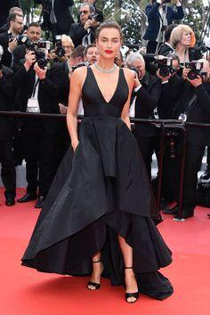 Irina Shayk wearing Twinset