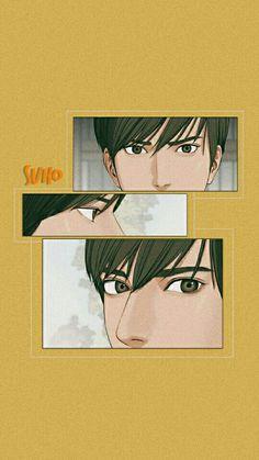Lookism Webtoon, Webtoon Comics, Suho, Angel Wallpaper, Angel Aesthetic, Handsome Anime, Happy Birthday Wishes, Cool Walls, Anime Style