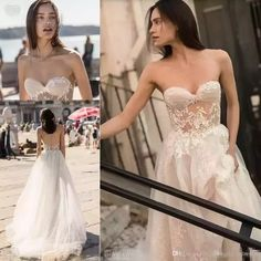 Discount Vintage Beach Garden Wedding Dresses 2018 Modest Liz Martinez Flowing Flare Tulle Lace Floral Sweetheart Boning Wedding Gowns Cheap Wedding Dress Designers Wedding Outfits From Magicweddingdresses, $161.13| Dhgate.Com #modestweddingdresses #gardenweddings #vintageweddingdresses #laceweddingdresses #beachweddings