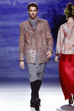 Francis Montesinos - Madrid Fashion Week O/I 2014-2015 #mbfwm