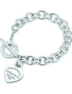 Tiffany And Co Jewelry, Tiffany And Co Bracelet, Tiffany Necklace, Heart Jewelry, Cute Jewelry, Sterling Silver Charm Bracelet, Link Bracelets, Jewelry Bracelets, Jewlery