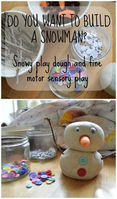 Snowy dough and snow...