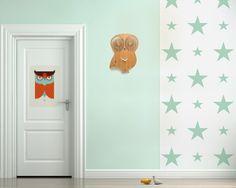 Tapeta Gwiazdy miętowe XL - Little Room