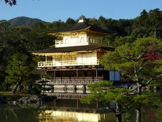 Kyoto's Kinkakuji - World Heritage Site. Historic Monuments of Ancient Kyoto (Kyoto, Uji and Otsu Cities)
