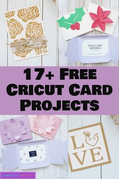Cricut Card Making Tutorials - DOMESTIC HEIGHTS free cricut card projects, cricut projects for beginners, cricut projects with cardstock Best Picture For Cricut decals For Your Card Making Ideas For Beginners, Card Making Tutorials, Cricut Tutorials, Cricut Ideas, Card Making Templates, Owl Templates, Applique Templates, Applique Patterns, Cricut Birthday Cards