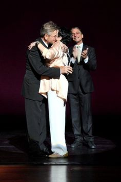 30th Annual Fred & Adele Astaire Awards Honor Liza Minnelli. Mikhail Baryshnikov, Liza Minnelli, Tony Danza. June 4, 2012