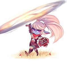 lol's Red Things birds with red coloring Lol League Of Legends, League Of Legends Poppy, Champions League Of Legends, League Of Legends Characters, Fictional Characters, Poppy League, Splash Art, Chibi Girl, Anime Chibi