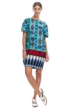 Stella Jean Printed Wax Cotton Tunic
