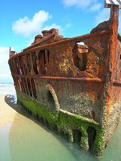 Ship Graveyard. Mauritania's Nouadhibou Bay (Africa)