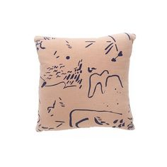 "SEE SUN for JENNY PENNYWOOD Limited edition 18 x 18"" Pillow"