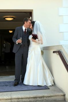 Me and my love. C and G's wedding. Caroline Puntis. #Pin By:Pinterest++ for iPad#