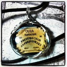 Ouija Pendant www.facebook.com/skullsandstones #trendy #skull #jewelry