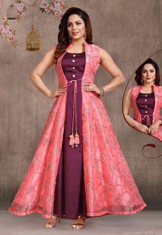 Beautiful Dresses Images For me Shiva Girls Designer Anarkali Dresses, Designer Party Wear Dresses, Kurti Designs Party Wear, Indian Designer Outfits, Party Wear Indian Dresses, Indian Gowns Dresses, Dress Indian Style, Girls Party Wear, Indian Dresses Online
