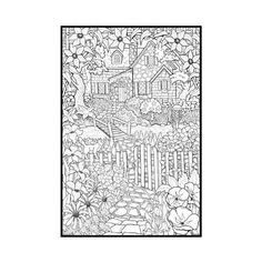 Coloring Pages For Embroidery Patterns Detailed Adults
