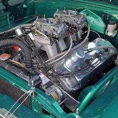 Hemi Engine, Car Engine, Chrysler Hemi, Old School Chopper, Bone Stock, Performance Engines, American Muscle Cars, Drag Racing, Car Pictures
