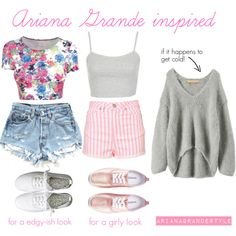 rollercoaster/theme park outfit ideas! by dresslikearianaa on Polyvore featuring Iliann Loeb, Topshop, H&M and Inspired
