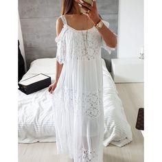 JENNIFER WHITE MAXI DRESS