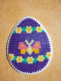 Easter egg hama perler by mes-petites-creations-13