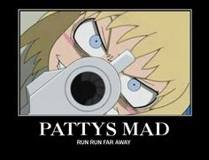 that's one thing to run for XD hahaha #party from soul eater