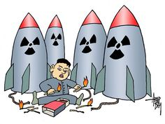 I think that it means that North Korea is two into nuclear weapons.