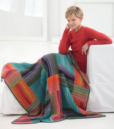 Crochet Shadow and Sun Afghan FREE Pattern!
