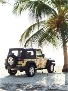 Lilly Pulitzer Jeep ~ love