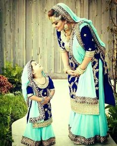For orders DM or Whatsapp for 9087615929 Mother daughter combo.( Punjabi heavy suit) In pure geo with work n lace work Kids age 1 to 14 yrs . Mom - 38 40 42 44 46 Price 2850 rs + shipping Mom n daughter Punjabi Suits Designer Boutique, Indian Designer Outfits, Indian Outfits, Mom Daughter Matching Dresses, Matching Outfits, Mother Daughter Fashion, Mother Daughters, Mothers, Kids Lehenga