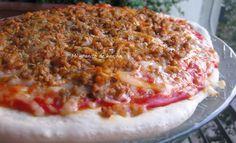 Mi granito de harina: Pizza casera de carne