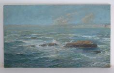 Unframed oil on canvas
