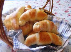Pihepuha tejeskifli - Anya főztje Hot Dog Buns, Hot Dogs, Hamburger, Bread, Food, Brot, Essen, Baking, Burgers