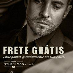 A Hylberman iniciou sua campanha de qualquer produto de seu site, com frente grátis. #fretegratis #frete #gratis #hylberman #promoção