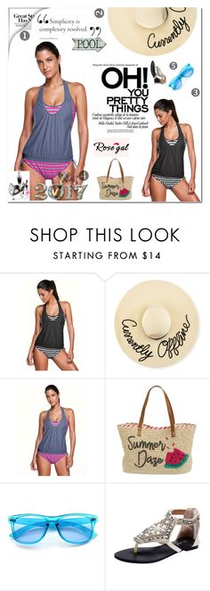 """""""Win $20 Cash from Rosegal!"""" by gabriela-spahic22 ❤ liked on Polyvore featuring Eugenia Kim, Nordstrom and ZeroUV"""