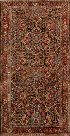 Bonhams Oktober in New York - Karolin Frank - Teppich Dekor Persian Decor, Persian Rug, Iranian Rugs, Iranian Art, Carpet Trends, Carpet Ideas, Patterned Carpet, Beige Carpet, Silver Carpet