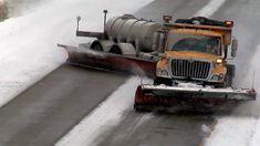 Check out this insane video of a two-lane snow plow in Missouri! I have never seen a plow like this anywhere in Illinois! Heavy Construction Equipment, Heavy Equipment, Tow Truck, Trucks, Snow Removal Equipment, Terrain Vehicle, Farm Boys, Snow Plow, Quites