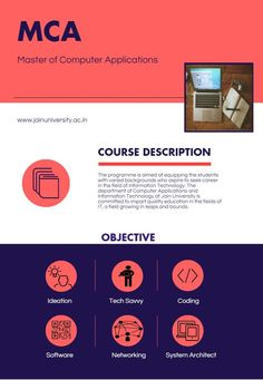 Jain University, best university in Bangalore offers MCA program to students who seek for a career in IT.
