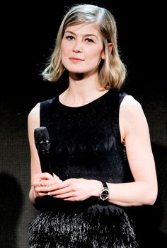 "fuckyeahrosamundpike: ""Rosamund Pike at the IWC 'For the love of Cinema' Gala Dinner at the Beijing International Film Festival at Aman at Summer Palace on April 2016 in Beijing, China. Rosemund Pike, London Film Festival, Summer Palace, Gala Dinner, British Actresses, International Film Festival, Camisole Top, Female, Tank Tops"